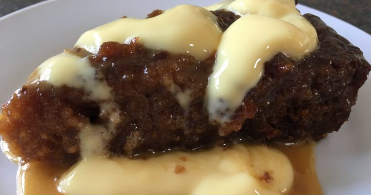 Malva pudding – a South African dish.