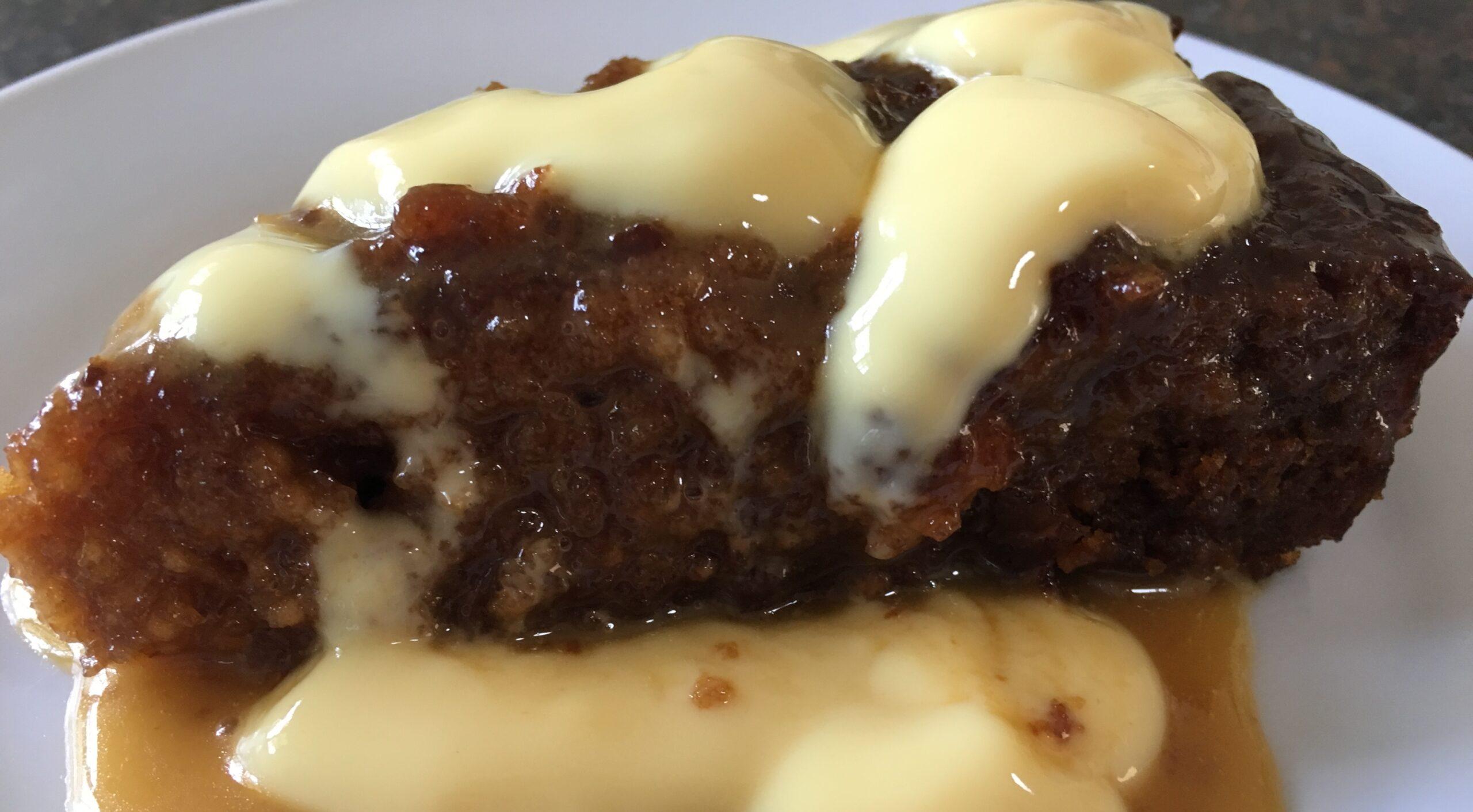 Malva pudding – a South African dish.