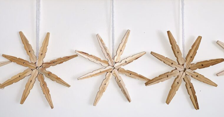 Wooden clothes pegs as diffusers